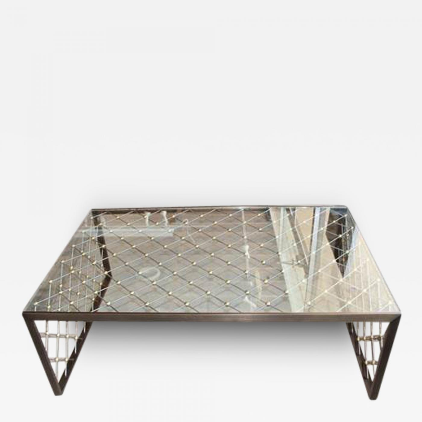 Tour Eiffel Custom Made Coffee Table after Jean Royere