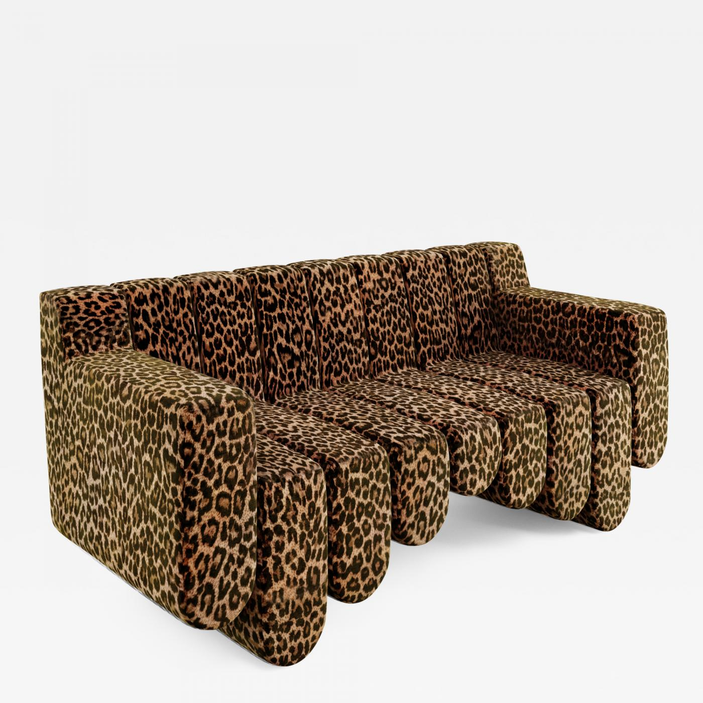 21st Century Contemporary 2 Seat Handmade Custom Sofa by Troy ...