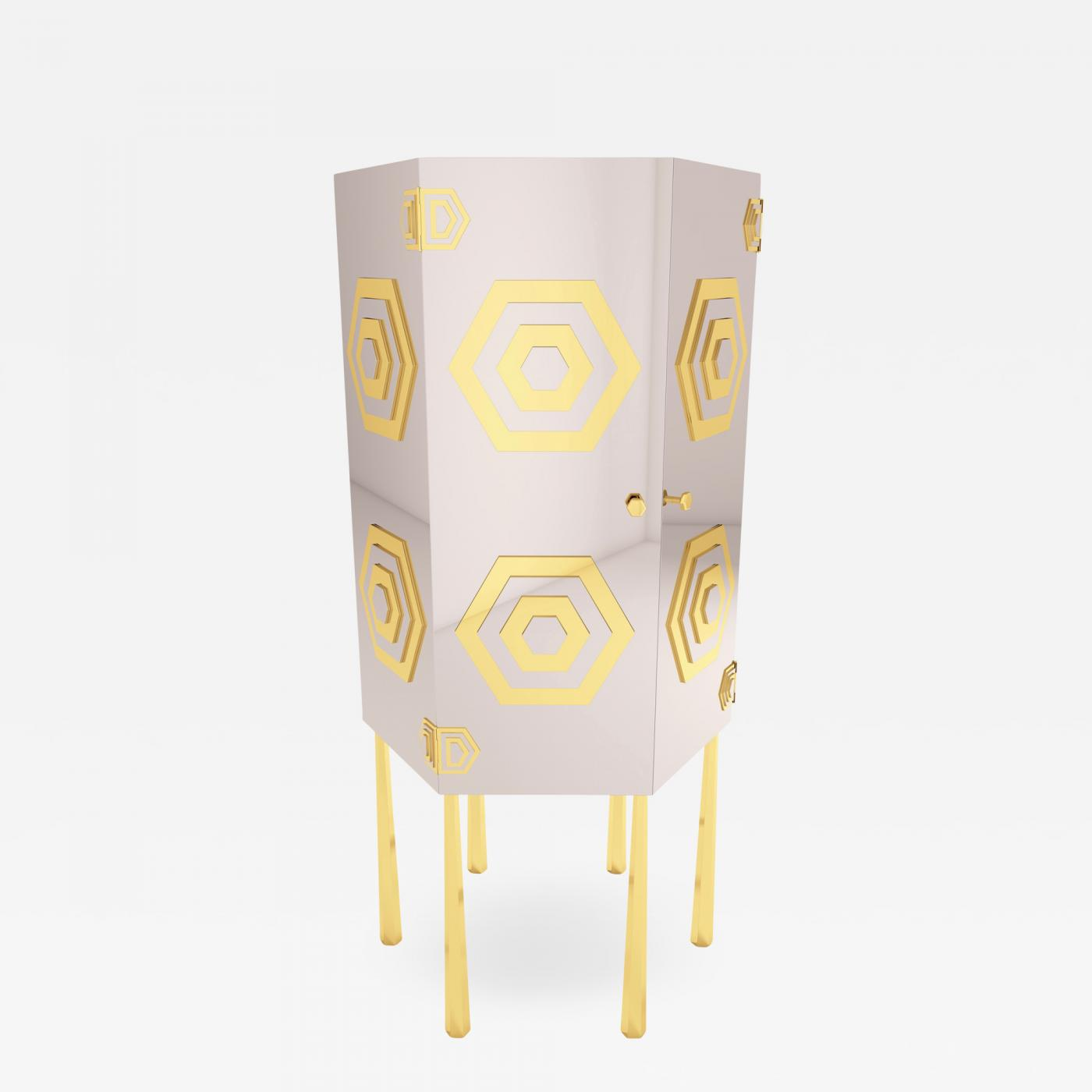 Cool Troy Smith Hex Cabinet By Artist Troy Smith Contemporary Modern Design Machost Co Dining Chair Design Ideas Machostcouk