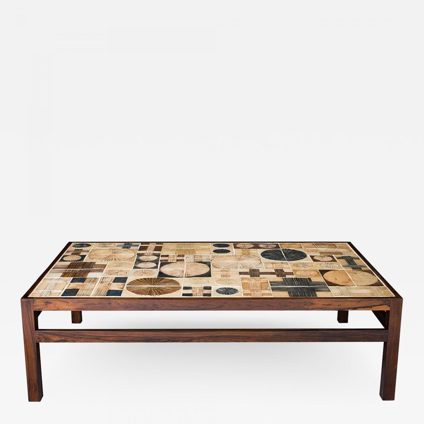 Tue Poulsen Tue Poulsen Tile Coffee Table
