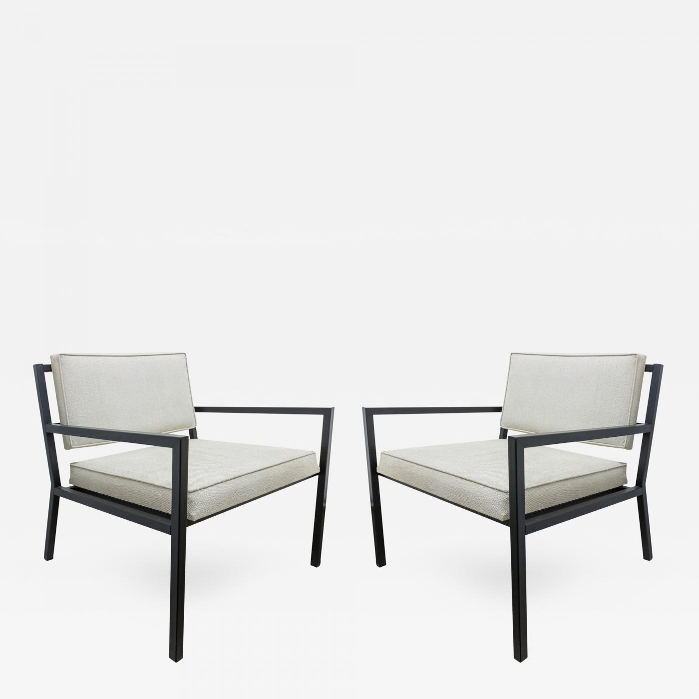 Van Keppel & Green - Pair of Van Keppel Green Low Club Lounge Chairs