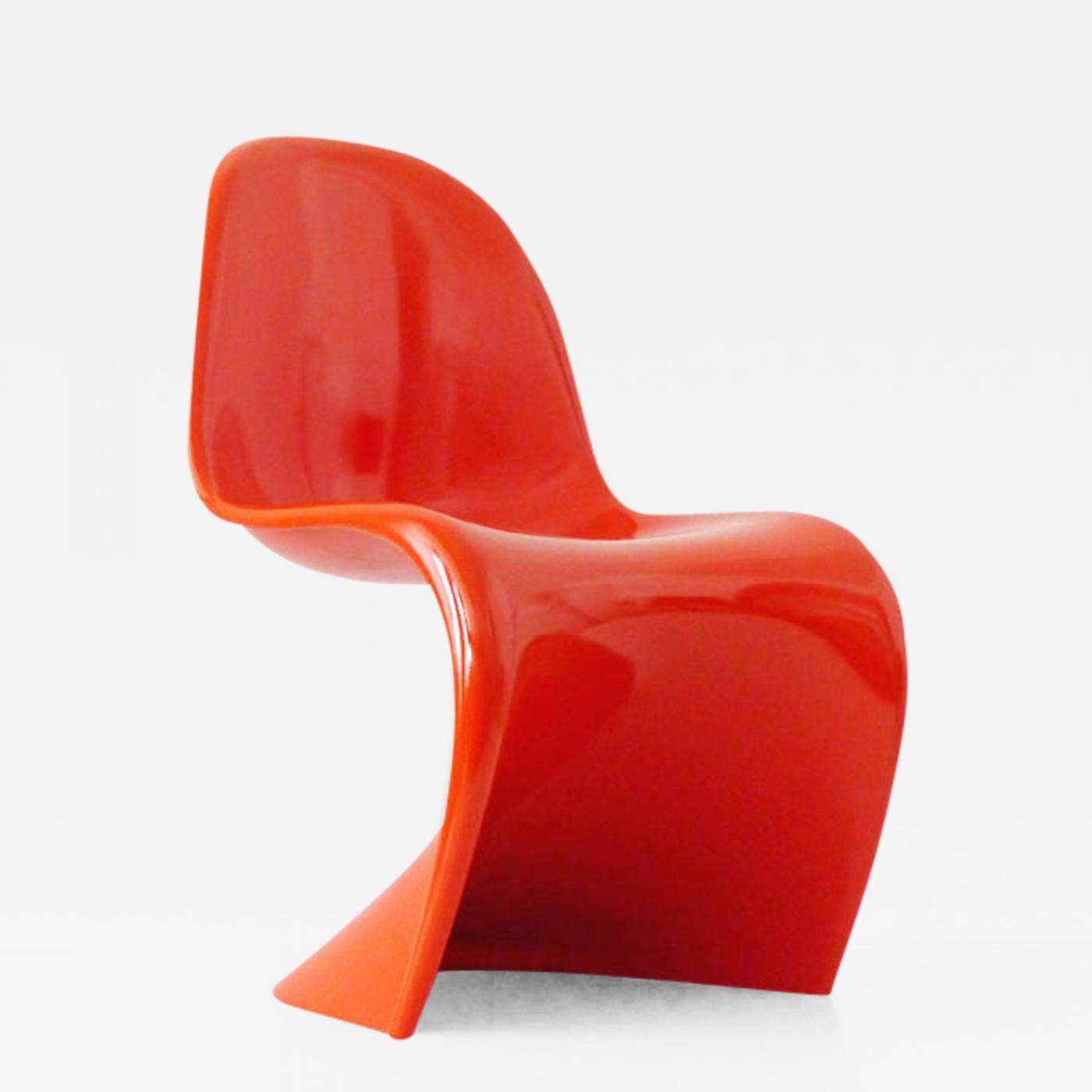 verner panton s chair in baydur