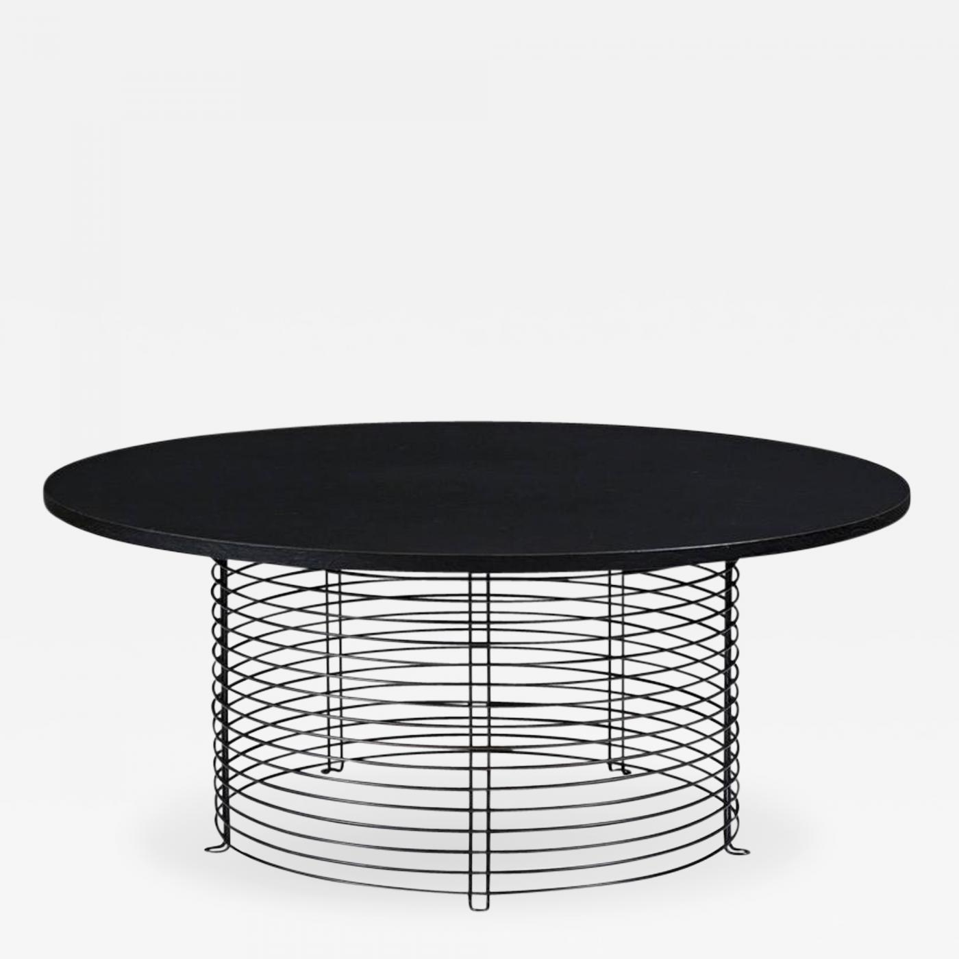 Verner Panton Verner Panton Model 421P Round Coffee Table