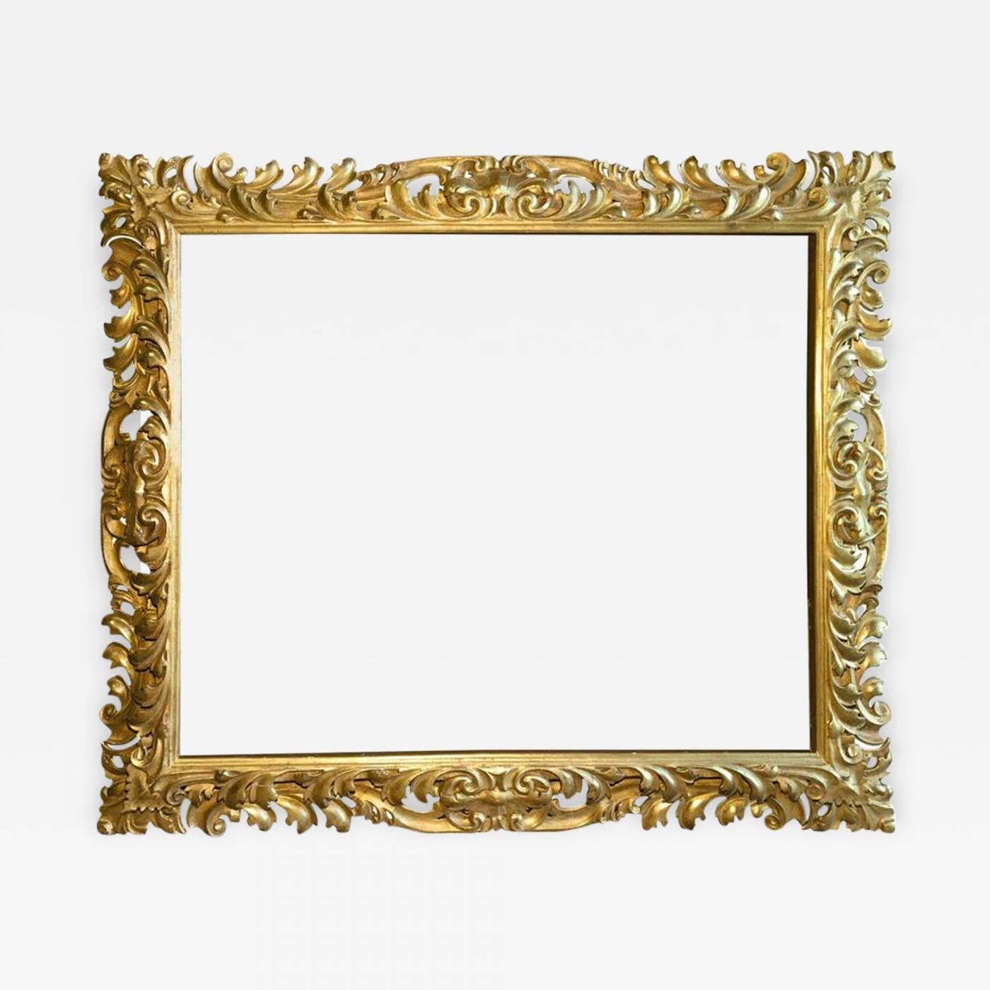 Very Large Italian Baroque Picture Frame