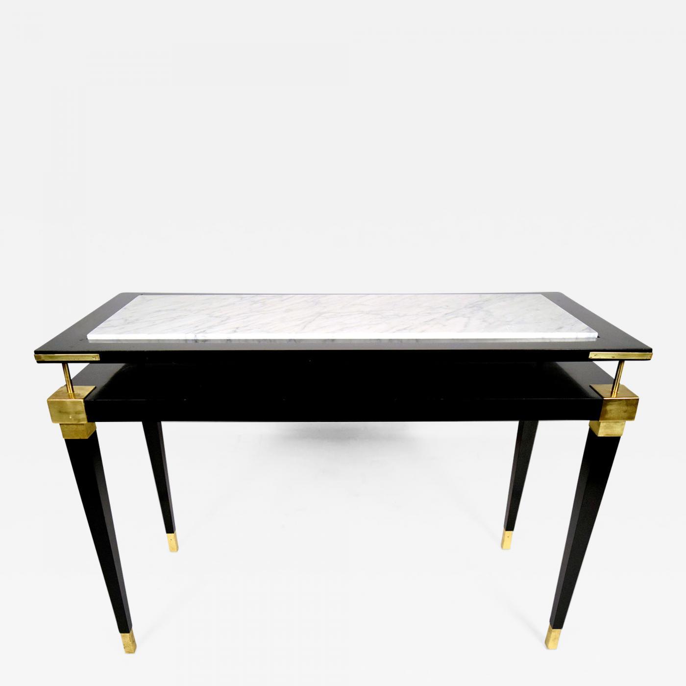Enjoyable Vintage Hollywood Regency Style Sofa Table Download Free Architecture Designs Oxytwazosbritishbridgeorg