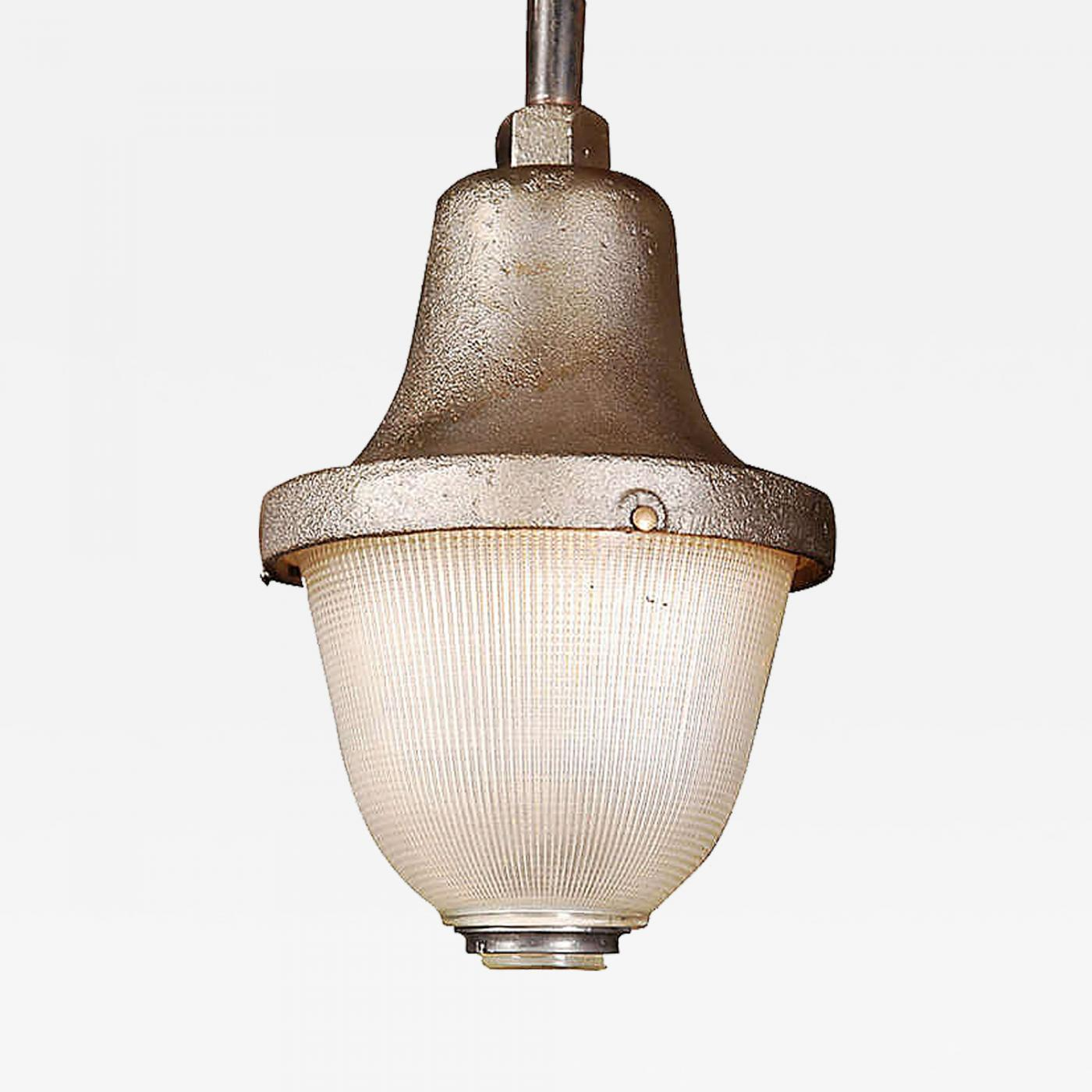 Vintage industrial holophane train station light lamp listings furniture lighting chandeliers and pendants arubaitofo Image collections