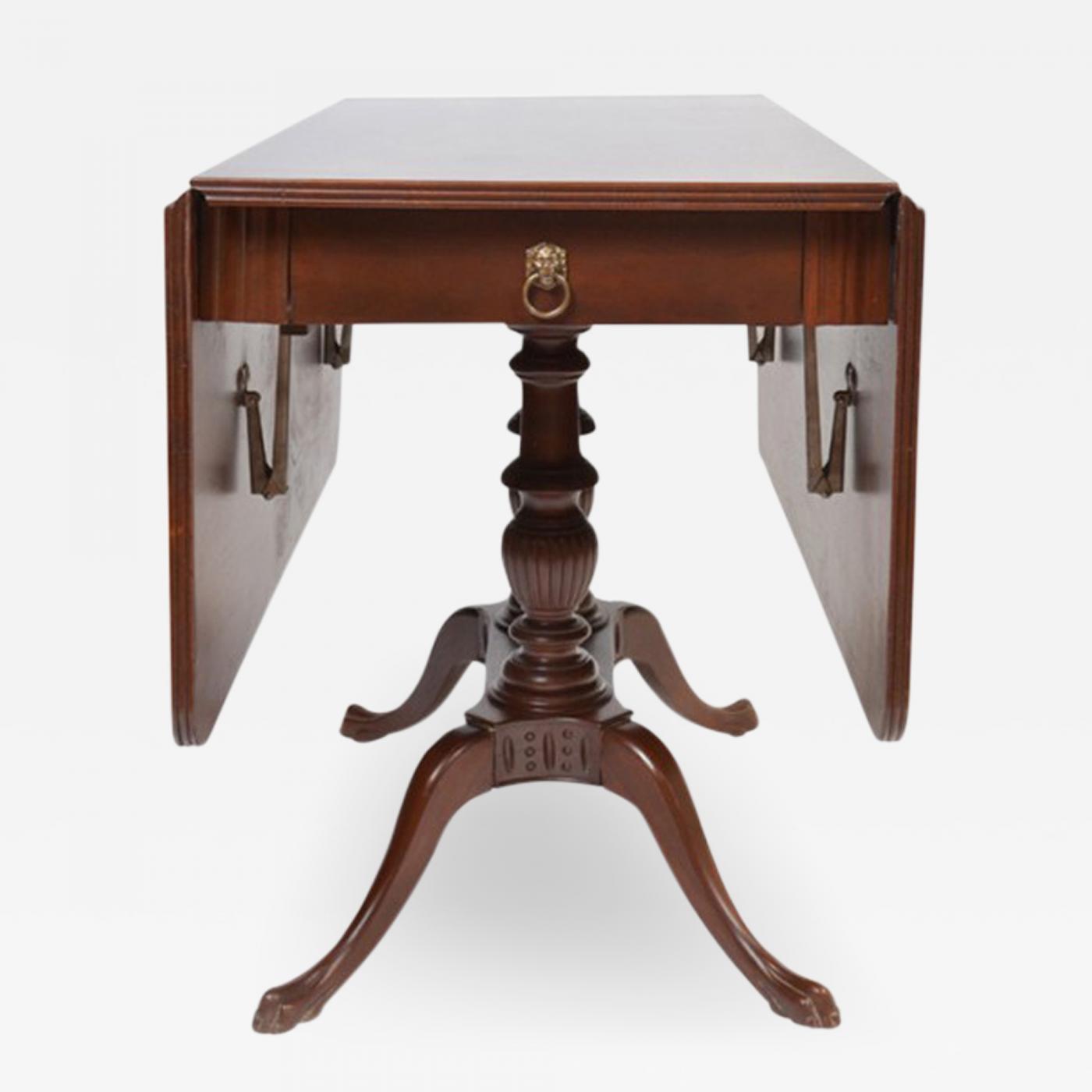 Vintage Mahogany Drop Leaf Table