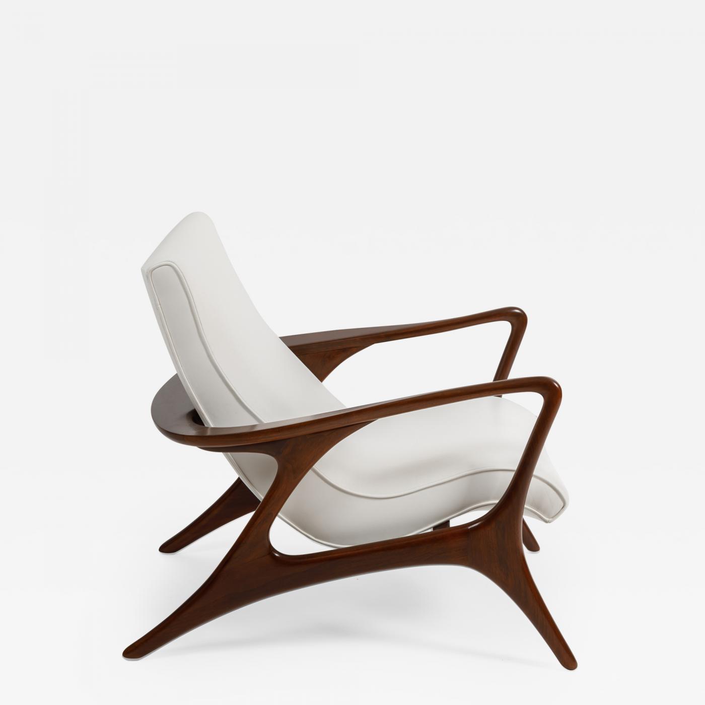 Awe Inspiring Vladimir Kagan Early Contour Lounge Chair By Vladimir Kagan Creativecarmelina Interior Chair Design Creativecarmelinacom
