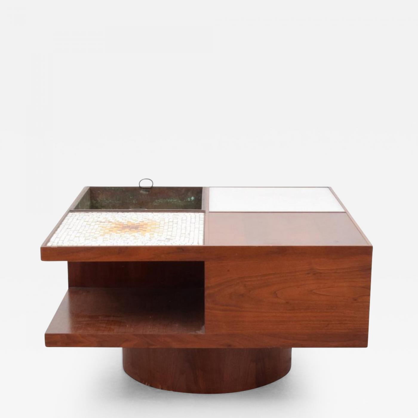 Vladimir Kagan Vladimir Kagan Lighted Coffee Table Model 440
