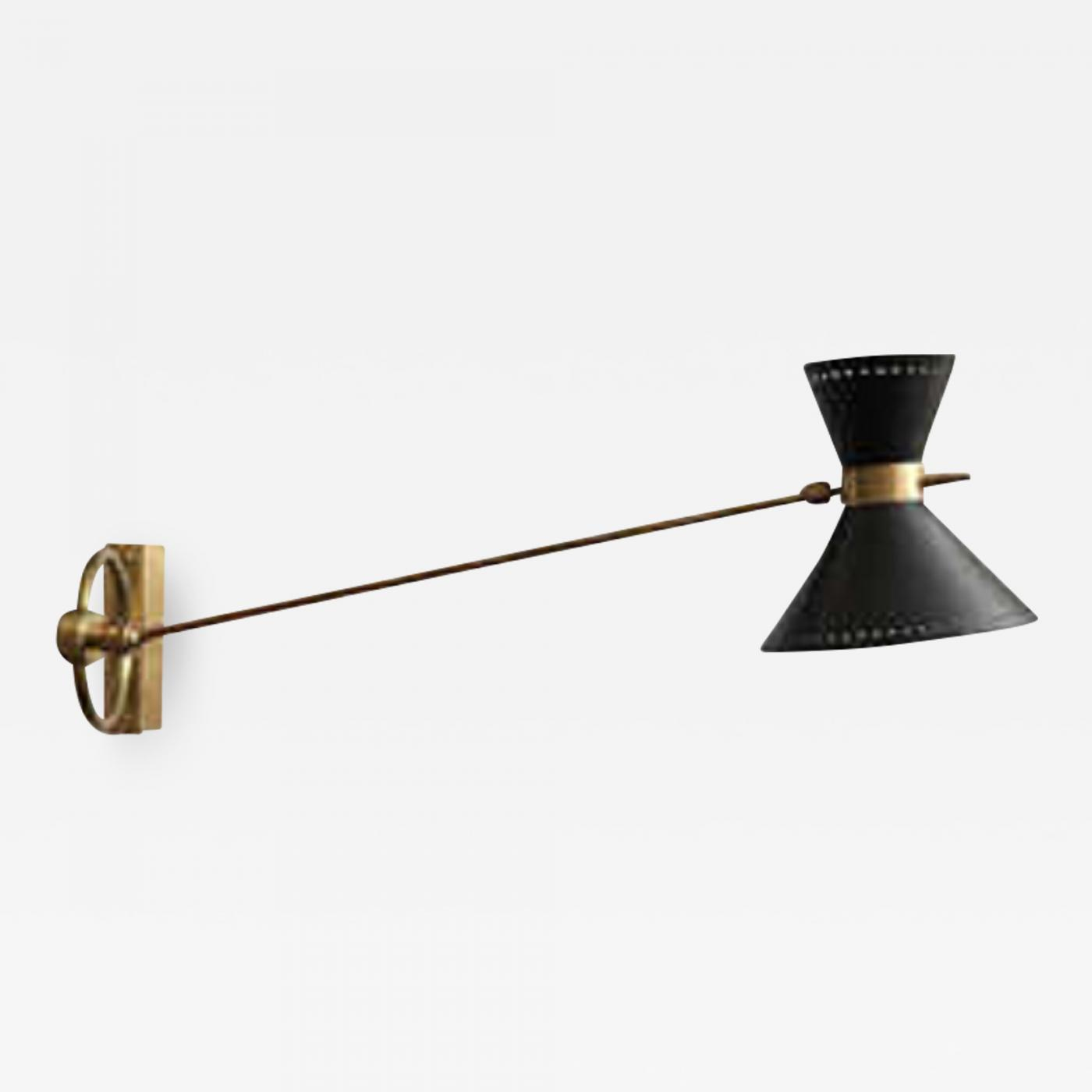 Picture of: Wall Light Articulated Mid Century Modern France 1950 S