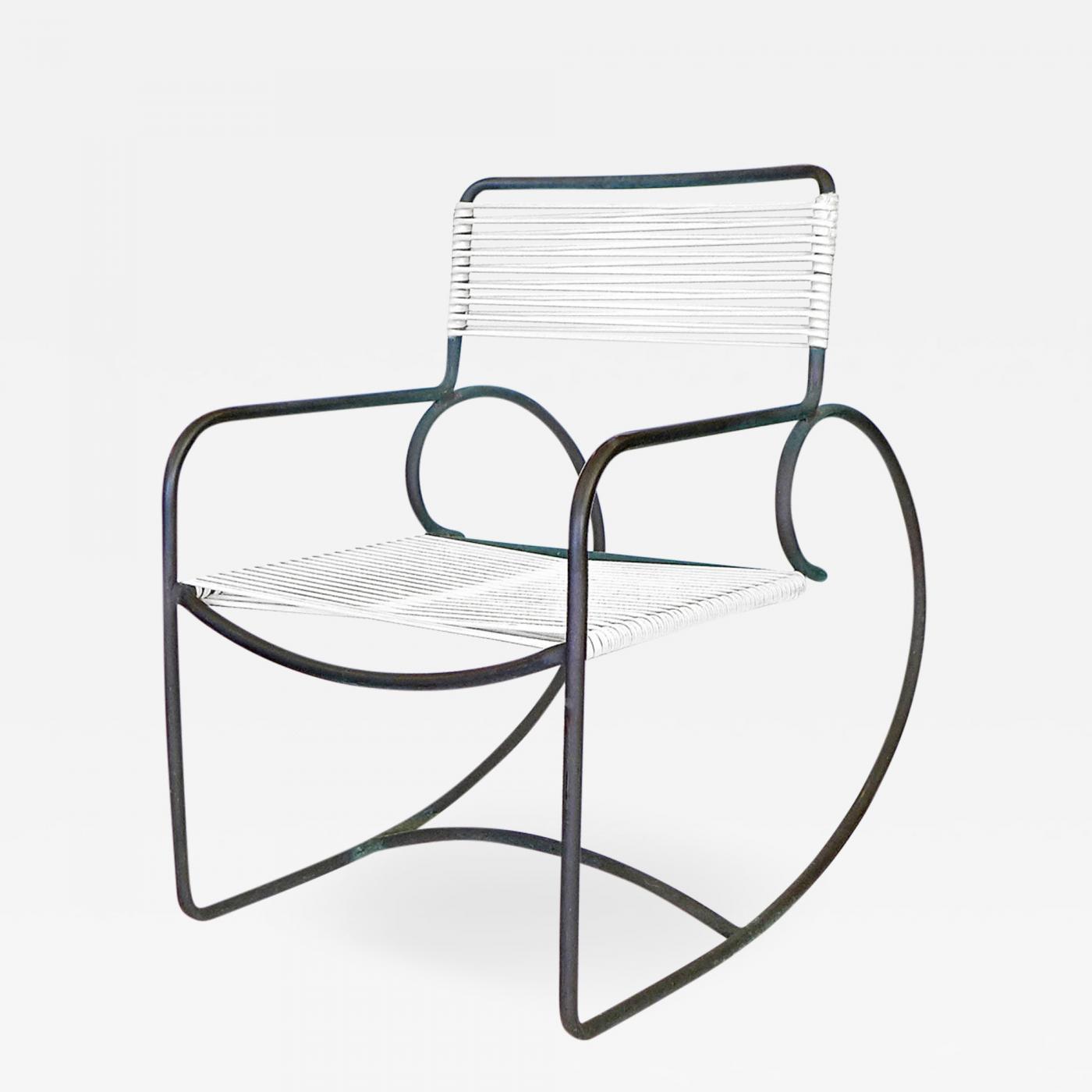 Pleasant Walter Lamb Pair Of Walter Lamb Bronze Rocking Chairs Inzonedesignstudio Interior Chair Design Inzonedesignstudiocom
