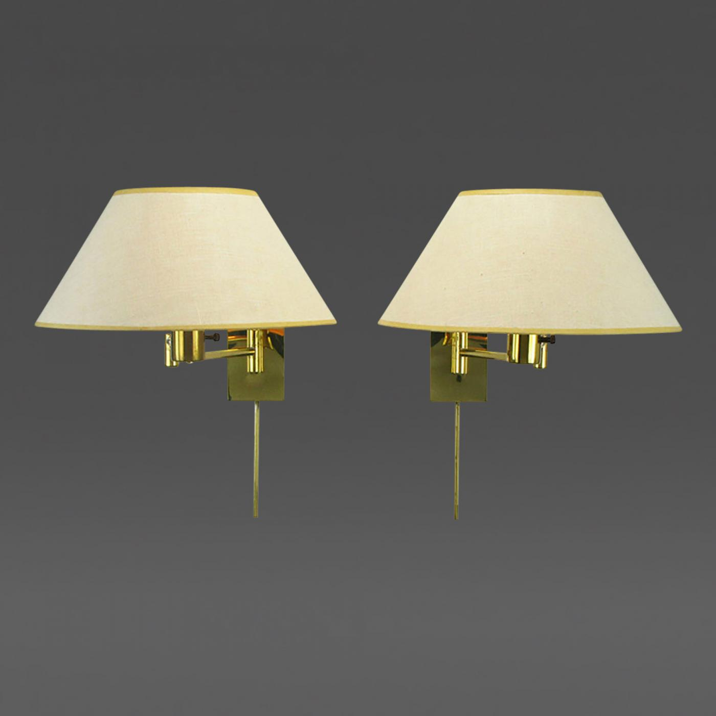 Dar lighting anvil anv0750s s1106 swing arm wall light in polished - Listings Furniture Lighting Wall Lights And Sconces