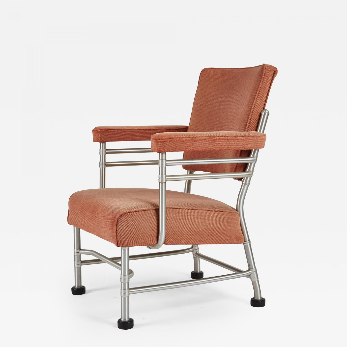 Listings / Furniture / Seating / Armchairs · Warren McArthur Warren  McArthur Aluminum And Rubber Lounge Chair