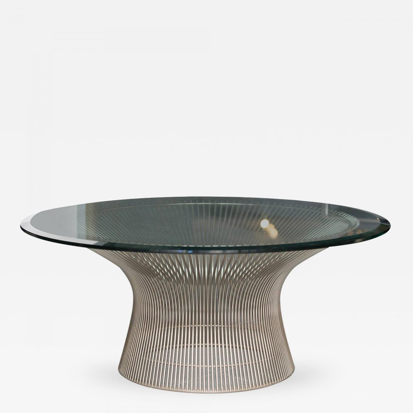 Warren platner warren platner coffee table for knoll for Warren platner coffee table