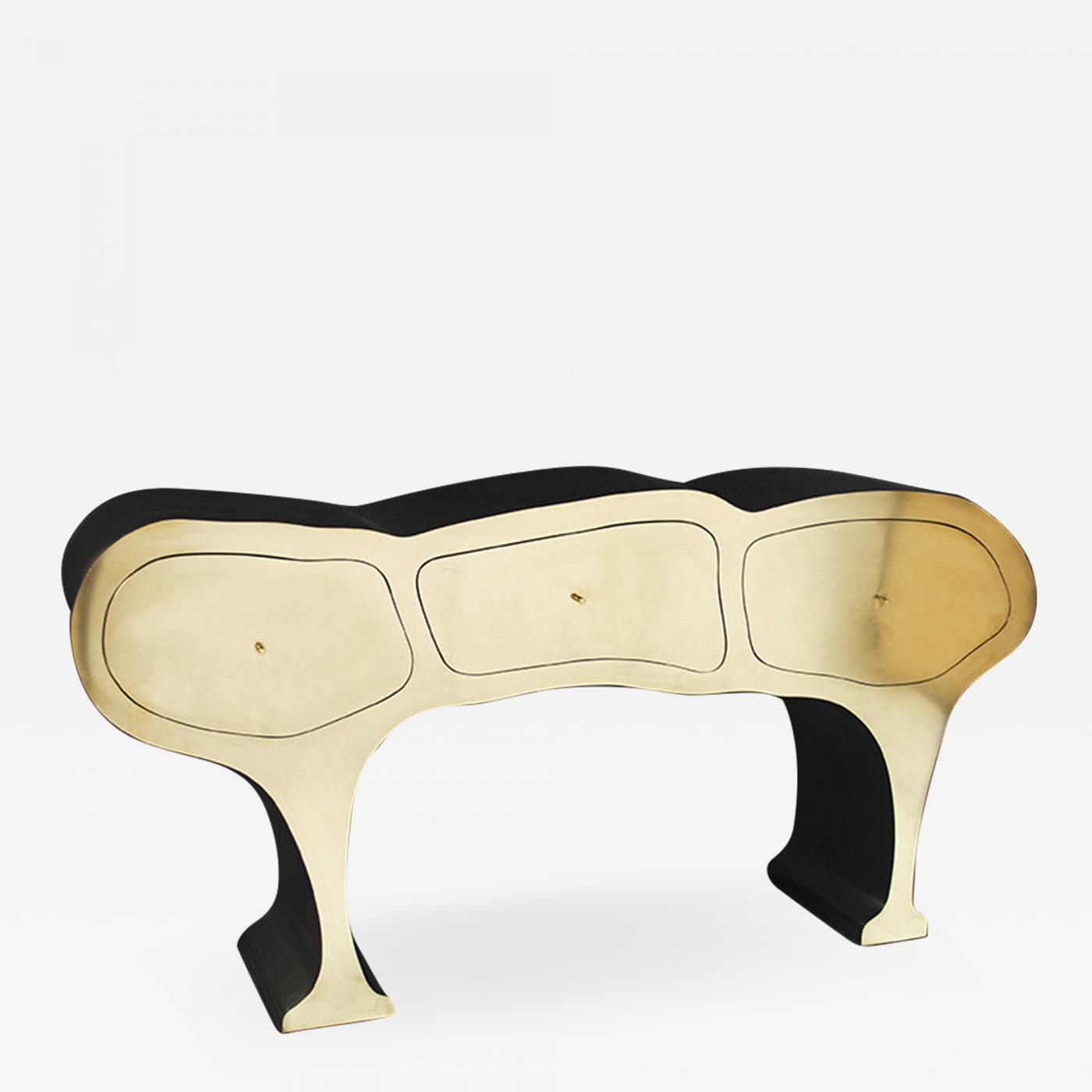 Groovy Werner Neumann Original Brass Cabinet Werner Neumann Creativecarmelina Interior Chair Design Creativecarmelinacom