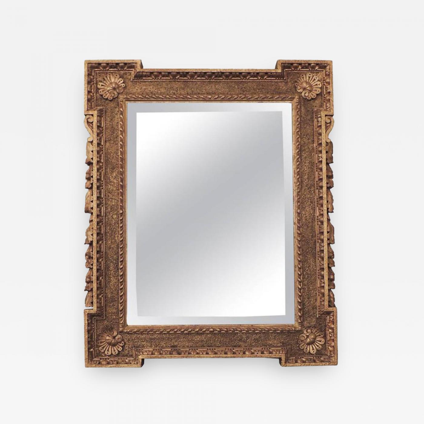 William Kent - Early 18th C English Palladian Gilt Frame Mirror ...